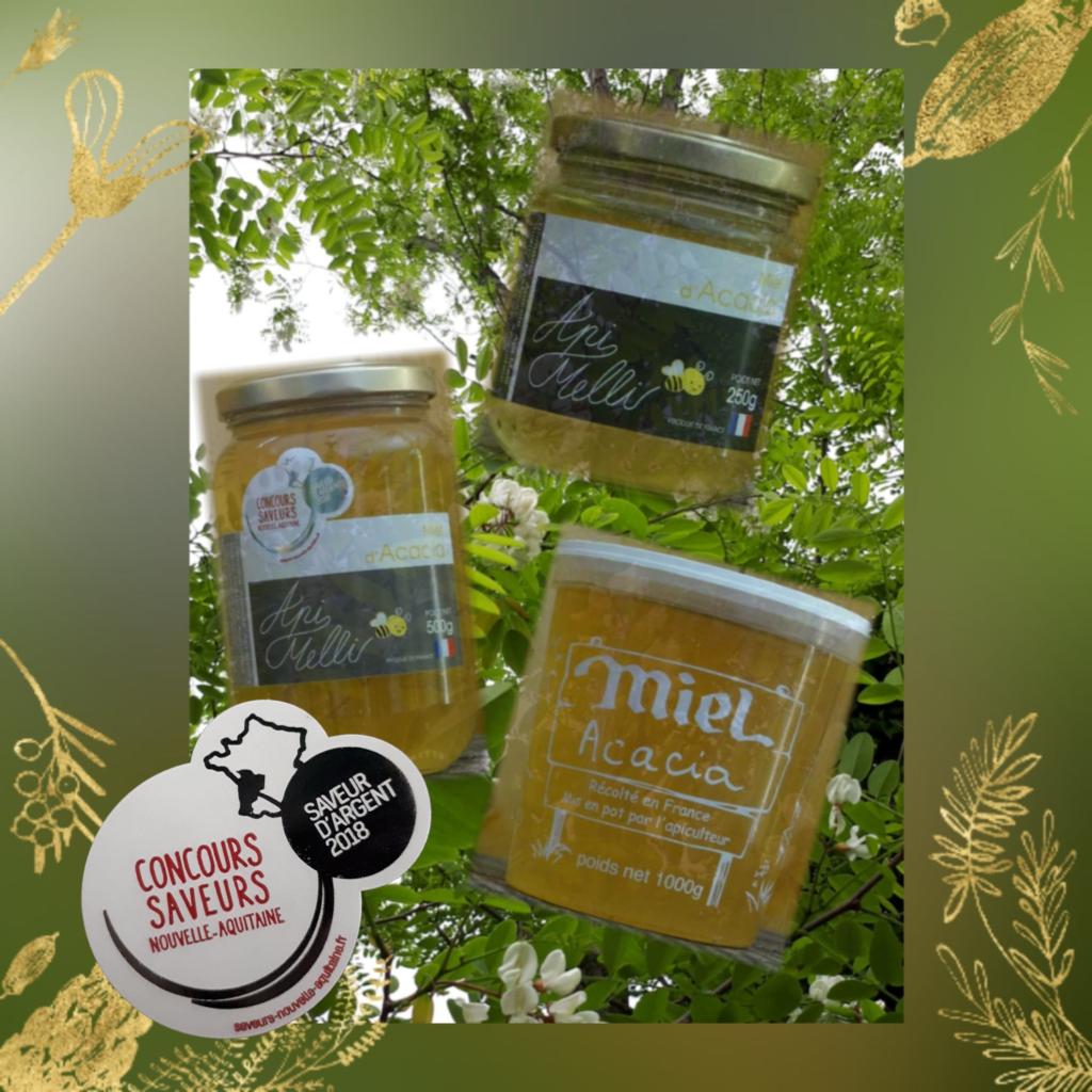 miel d'acacia landes sud-ouest saint lon les mines Peyrehorade dax