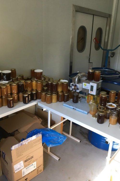 Boutique vente directe de notre miel à St Lon les Mines www.mielapimelli.com